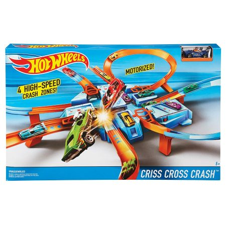 Hot Wheels Criss Cross Crash Set